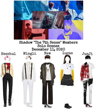 """Shadow """"The 7th Sense"""" M/V Members Solo Scenes"""