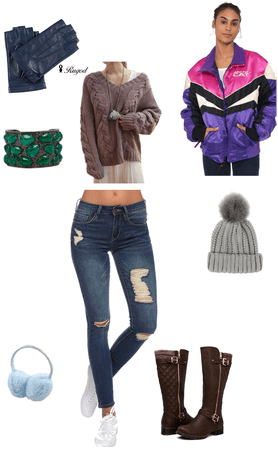 Classic winter outfit inspired Jonas