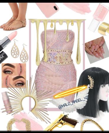 Pink Egyptian Princess 👑