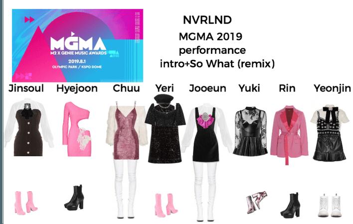 NVRLND MGMA 2019 performance