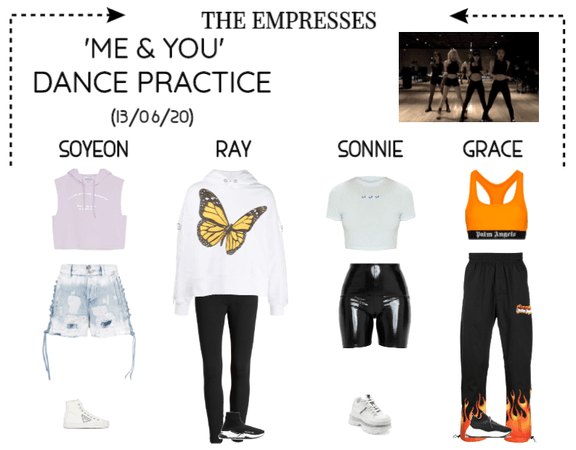 [EMPRESS[ 'ME & YOU' DANCE PRACTICE