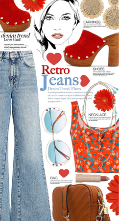 love your retro jeans