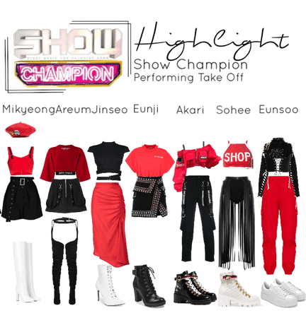 Highlight Show Champion - Take Off