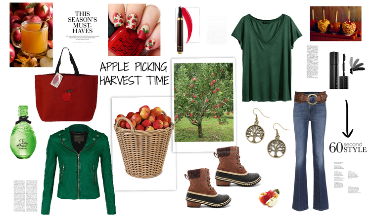 apple picking harvest time contest