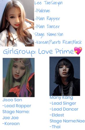 (Fake GG) Prime Love💖 Members
