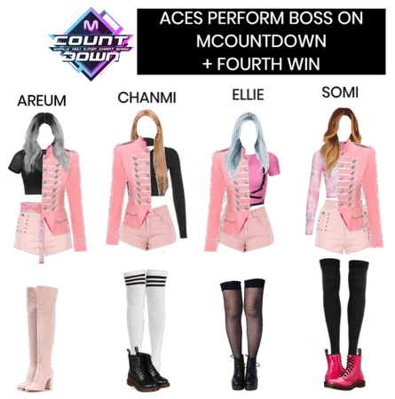 [ACES] BOSS ON MCOUNTDOWN + 4TH WIN