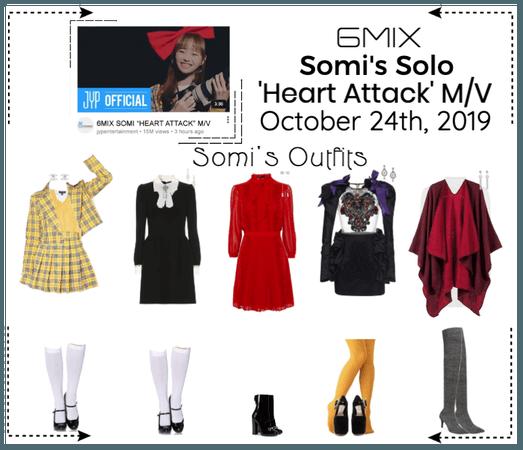 《6mix》'Heart Attack' M/V - Somi's Solo