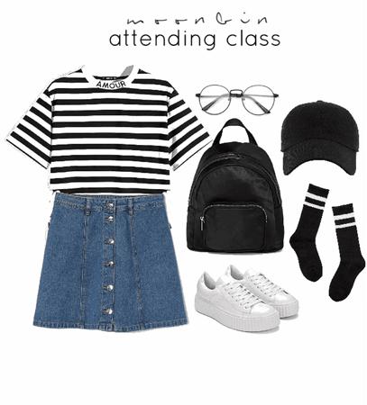 [ astro ] attending class w/ moonbin 💫