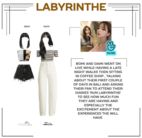 LABYRINTHE dami and bomi