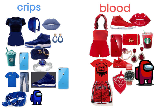 crips or blood