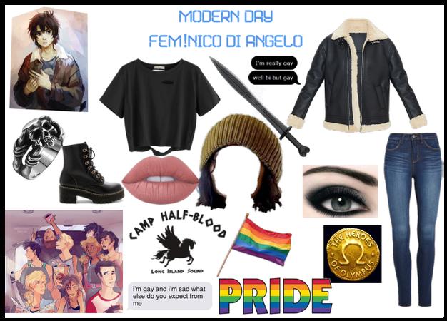 Modern Day Characters 25: Fem! Nico di Angelo