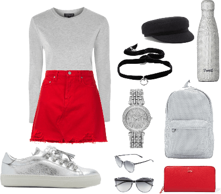 Red hipster