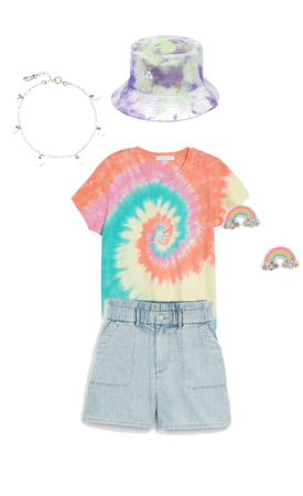 tye-dye Rainbow