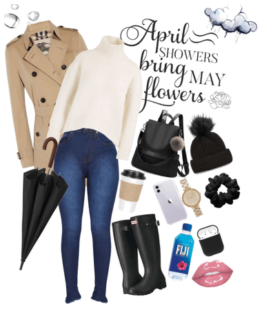 April Showers Outfit