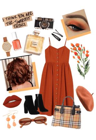 Orange Inspired Look🍊