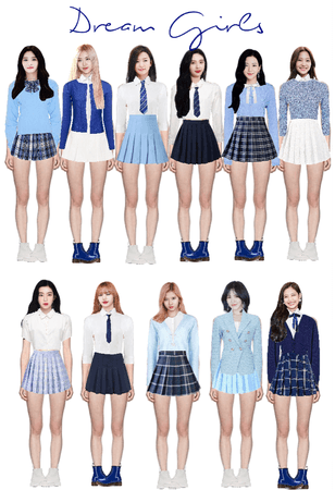 Dream Girls Stage 2 (fake kpop group)