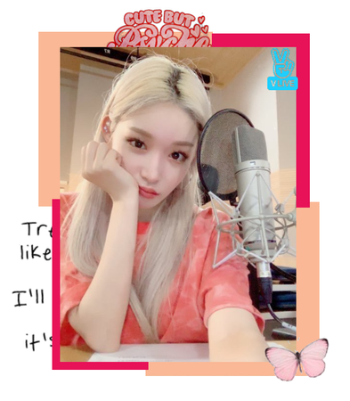 in this vlive somi is in her studio she tells