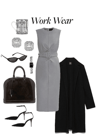 Grey Office Outfit