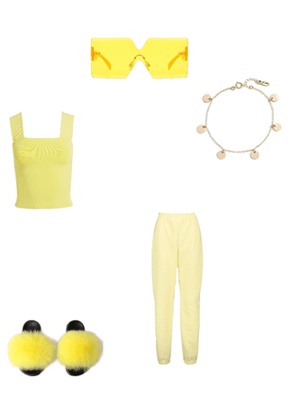cute yellow offet
