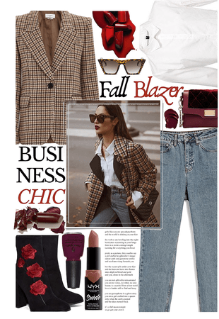 FALL BLAZER: Business Chic