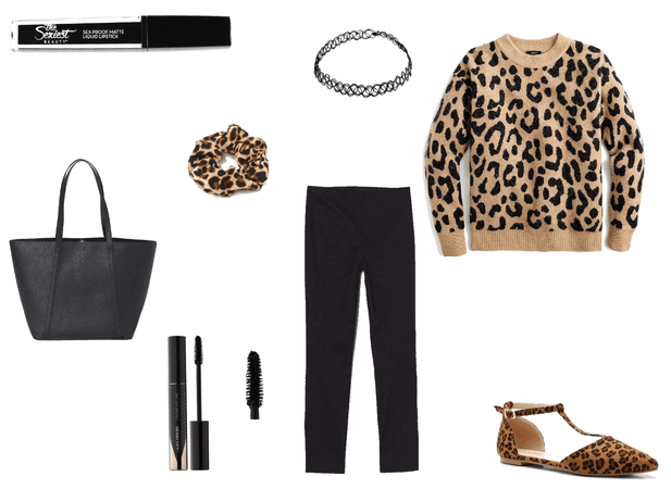 Rock Leopard Print With This Look