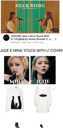 [HEARTBEAT] JULIE X MINA 'STUCK WITH U' COVER