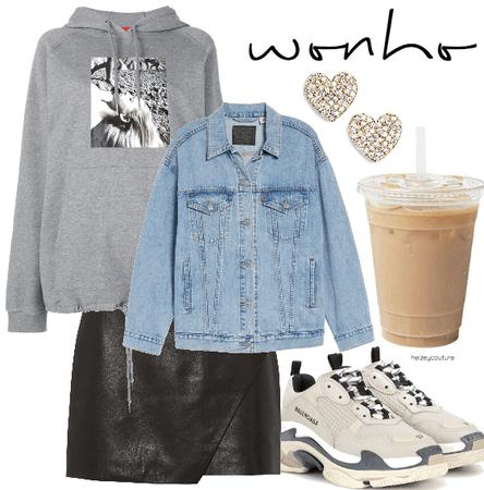 coffee date w/ monsta x: wonho
