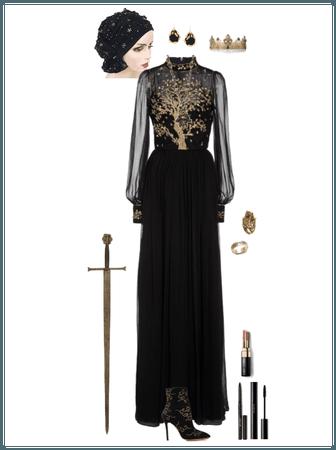 tree of life gown (Athena)