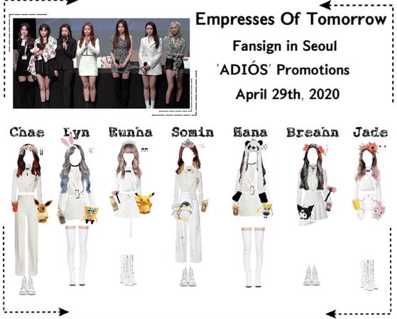 EOT | Fansign: 'ADIÓS' Promotions