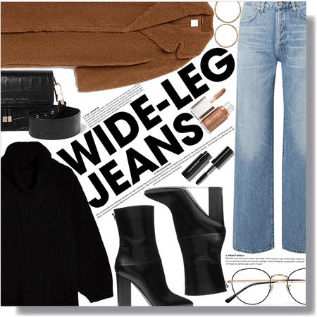 good jeans: wide leg jeans
