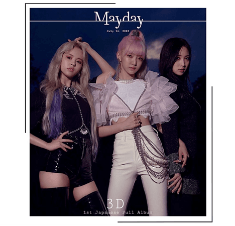 {3D}'Mayday' Japanese Debut Group Teaser
