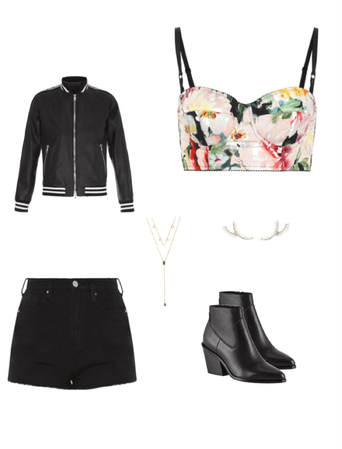 Floral Date Night Outfit