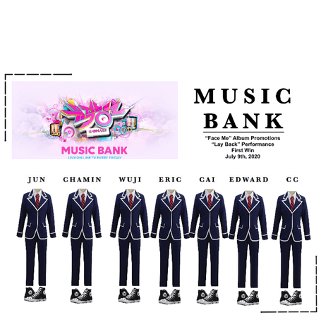 MUSIC BANK: FIRST WIN