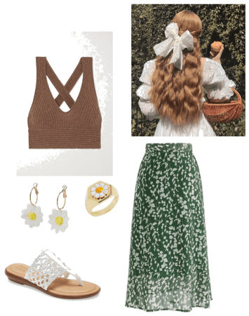 cottage core skirt