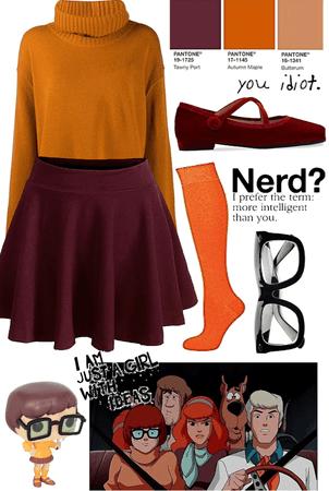 Velma in Scooby-Doo 🍂🧶🦔