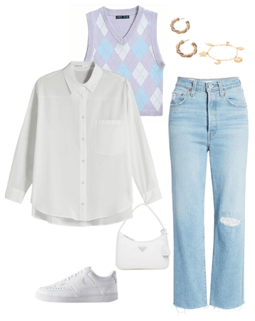 trend preppy outfit