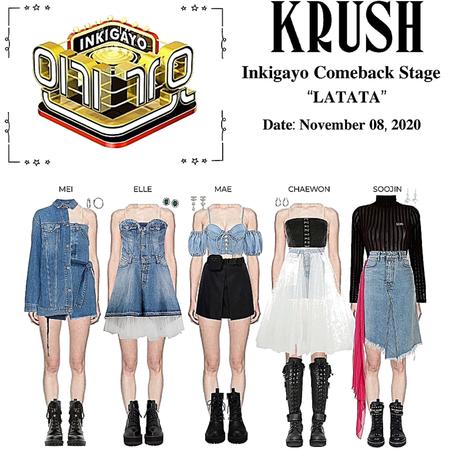 "KRUSH Inkigayo Comeback Stage ""LATATA"""