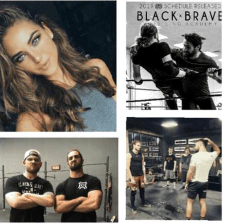 Mia visits Black and Brave Wrestling Academy surprising Seth