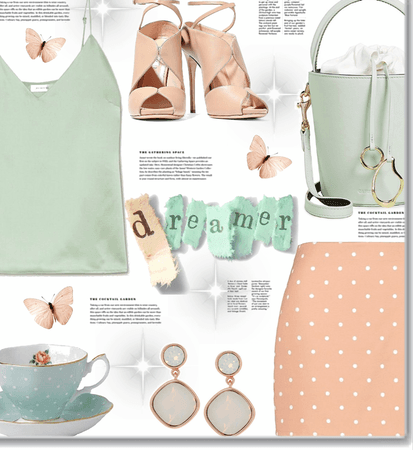 Muted pastel