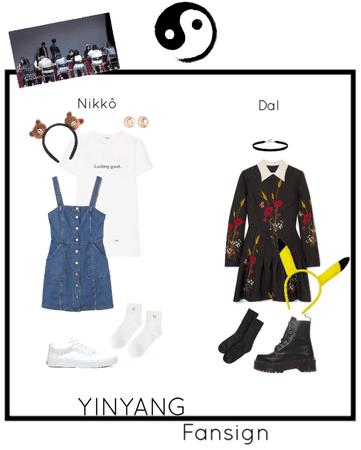 YINYANG - Fansign