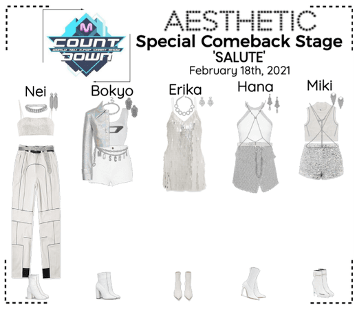 AESTHETIC (미적) [MCOUNTDOWN] Special Comeback Stage