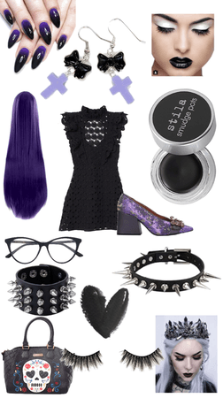 LBD with a hint of purple