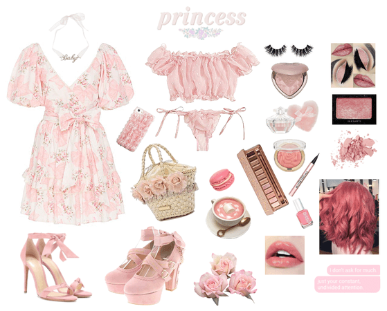 spoiled pink princess