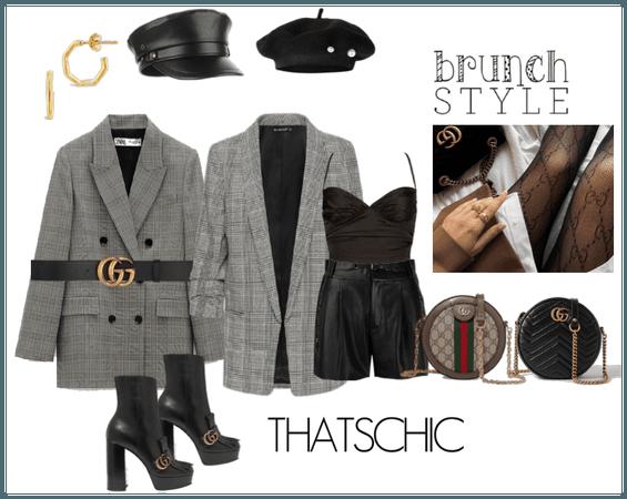 a parisians chic outfit