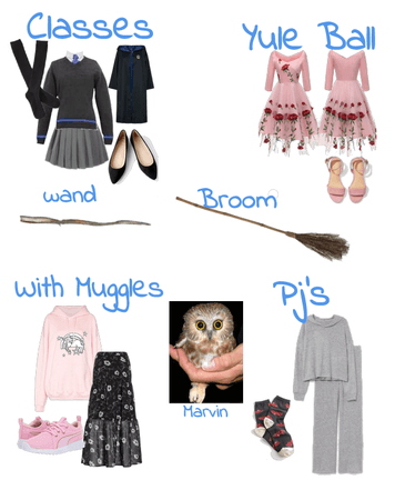 Hogwarts oc outfits