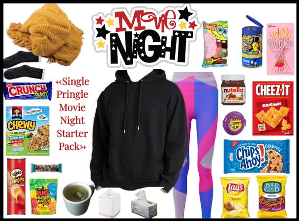 Single Pringle Movie Night Starter Pack