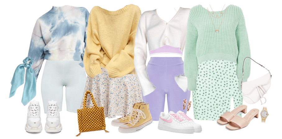 another pastel lookbook: comfy cute!
