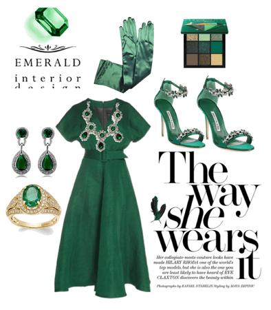 Emerald look💚