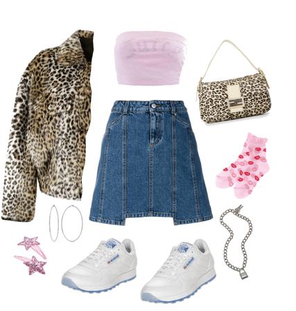 bubblegum leopard