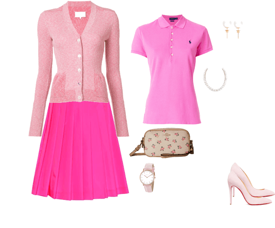 pink and preppy